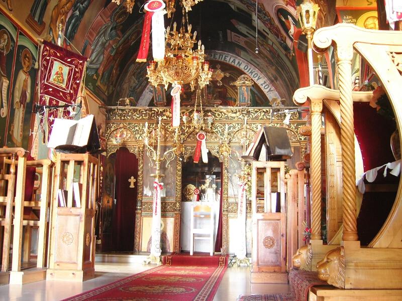 Frauen Segeln: orthodoxe Kirchen