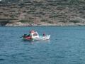 Frauen Segeln: Ein Fischer auf dem Weg zur Arbeit