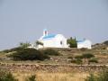 Frauen Segeln: typische Kirchen in Griechenland