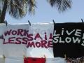Frauen Segeln: sail more, work less, live slow